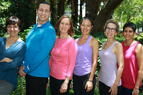 Dance faculty members